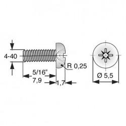 Replacement Screws for rmk-pSN4XXX