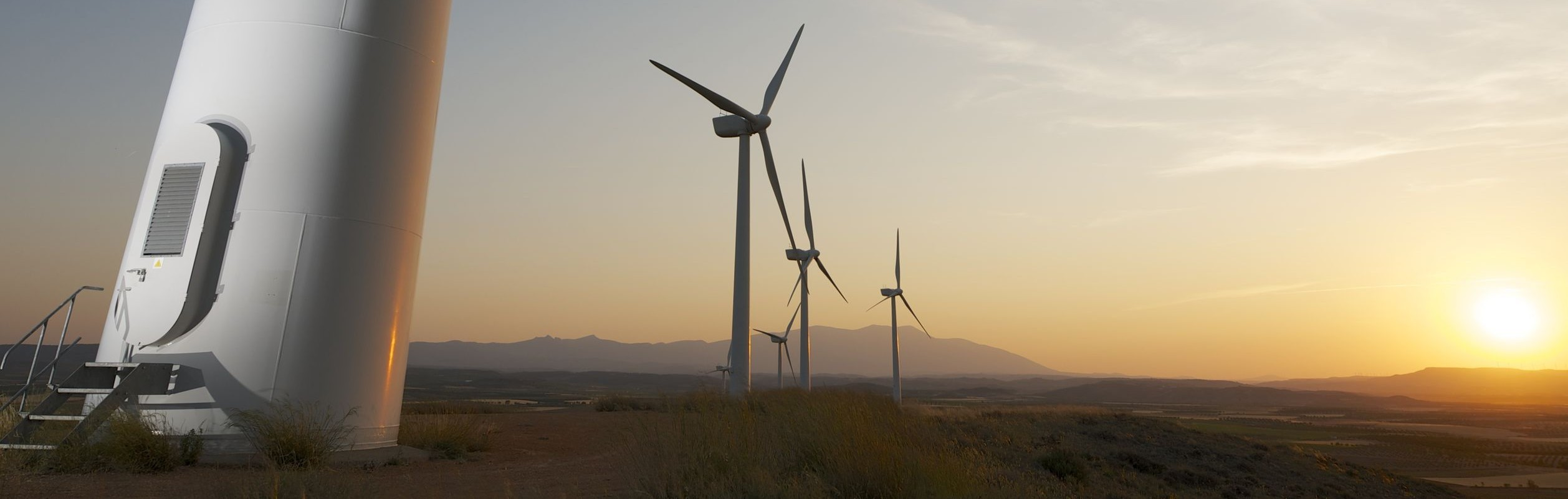 Rack Mounts for Wind Turbines